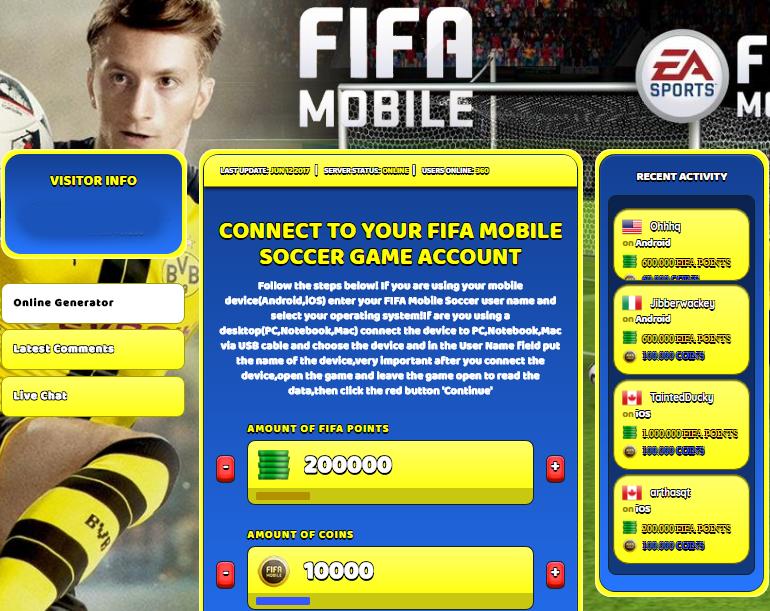 droidmaven.com  Hack De Fifa Points Fifa Mobile