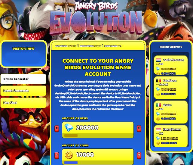 angry birds mod apk hack